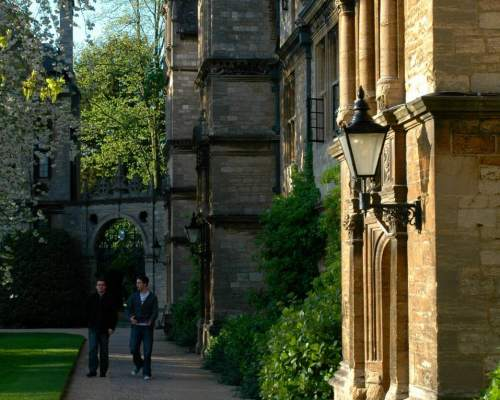 Das historische St. Hildas College in Oxford