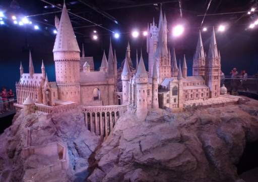 Das Hogwarts Model in den Warner Brother Studios London
