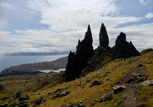 The Old Man of Storr auf der Isle of Skye