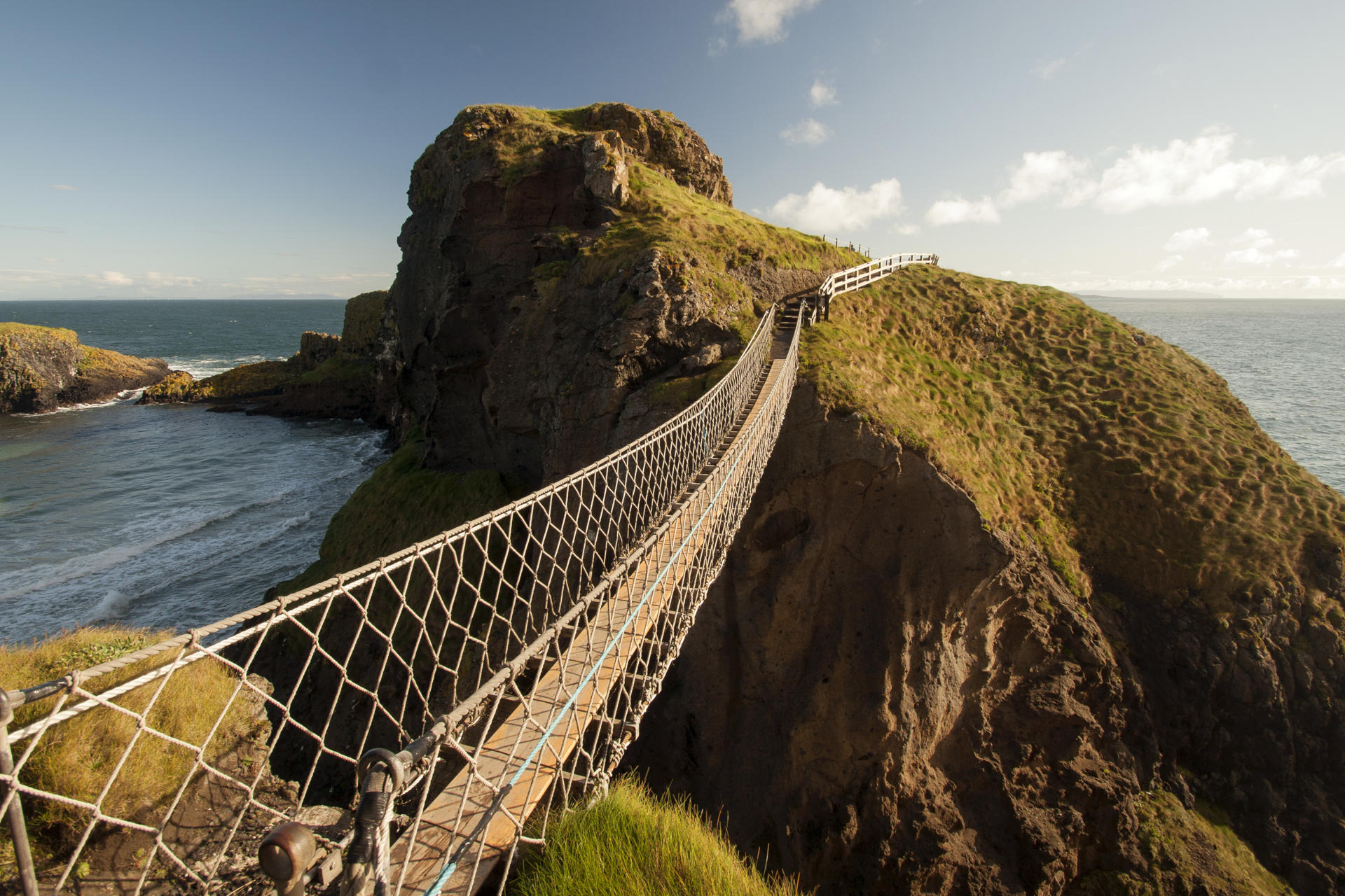 Carrick-a-Rede (Insel in Nordirland)