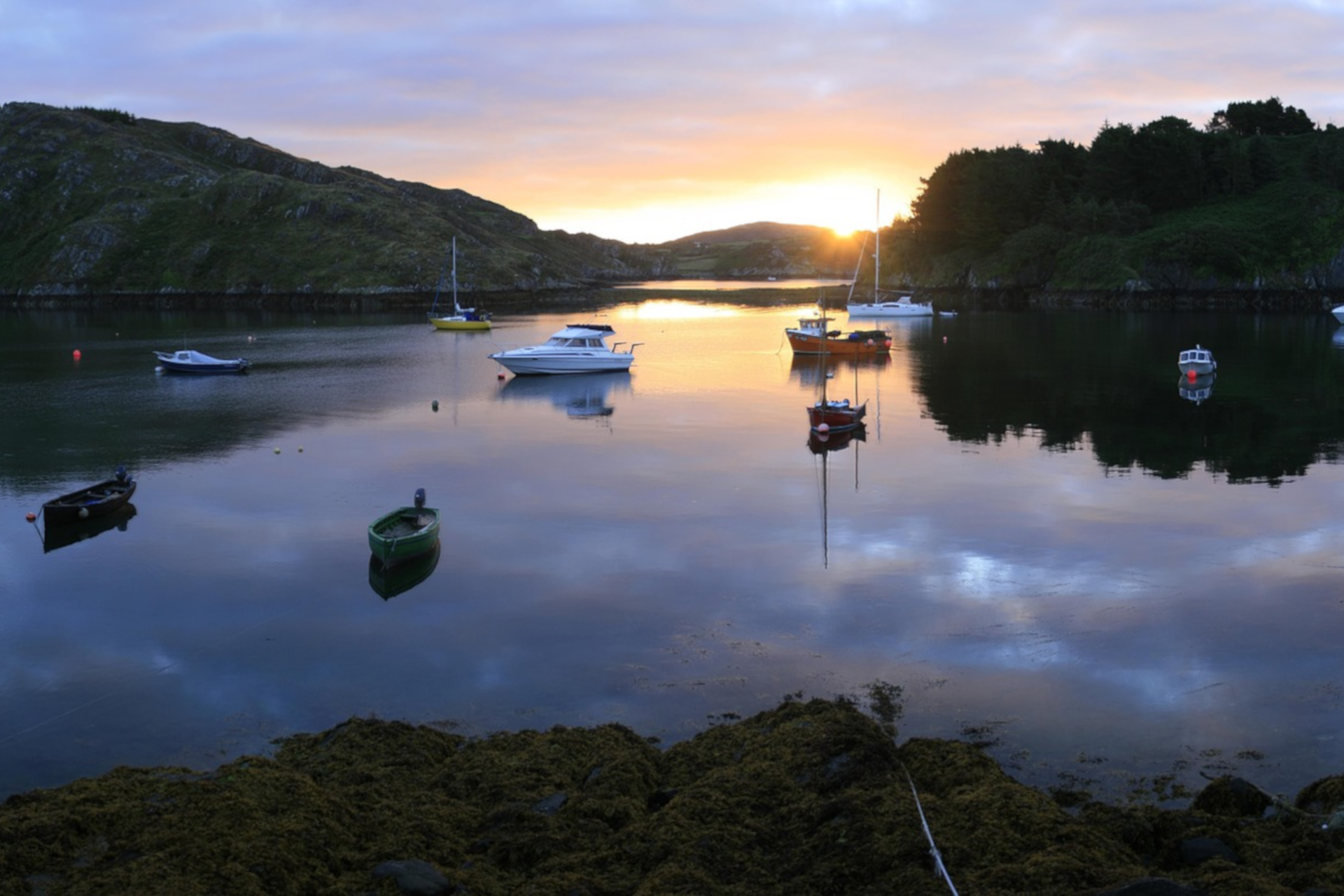 """Lough Hyne"" See in West Cork"