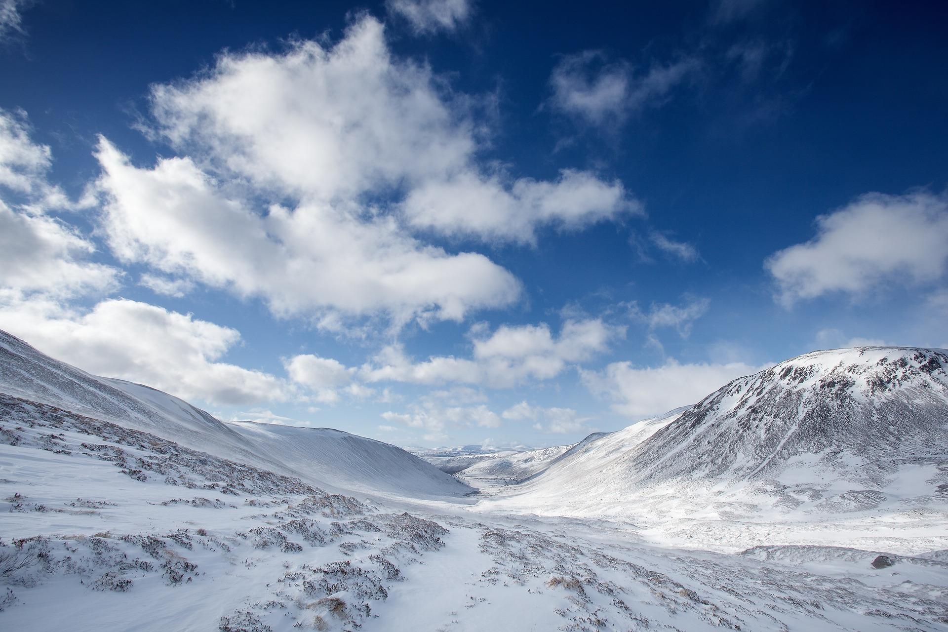 Der Cairngorms National Park im Winter